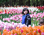 Education activities to support like fieldtrips to the Tulips for this happy child